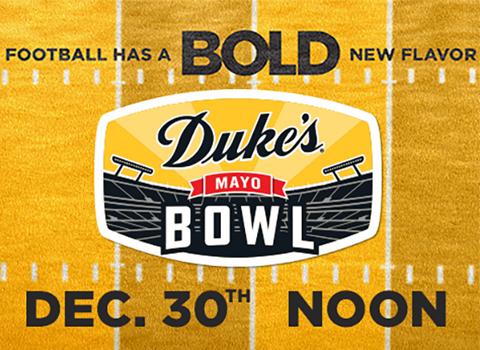 2020 Duke's Mayo Bowl Will Be Played on December 30th