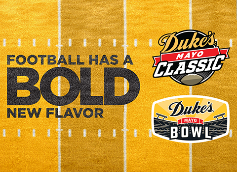 Duke's Mayonnaise Announced as Title Sponsor For Charlotte Kickoff and Bowl Games