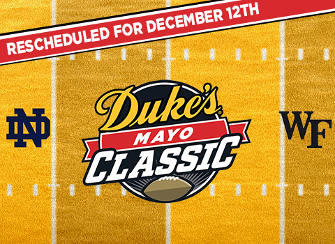 2020 Duke's Mayo Classic Rescheduled for December 12th
