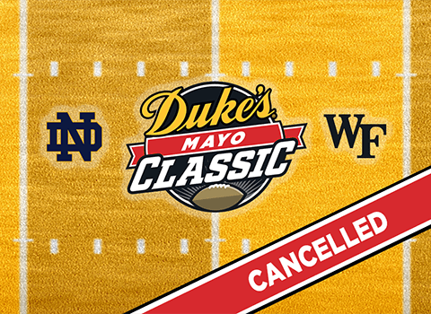 Duke's Mayo Classic Will Not Be Played in 2020