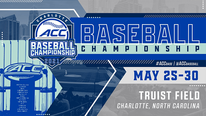 Charlotte Set to Host 2021 ACC Baseball Championship