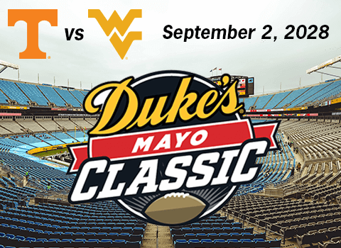 Tennessee and West Virginia Will Kick Off 2028 Season in Charlotte