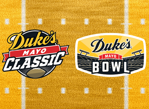 Charlotte Sports Foundation Announces Final Dates and Times for 2021 Duke's Mayo Games in Charlotte